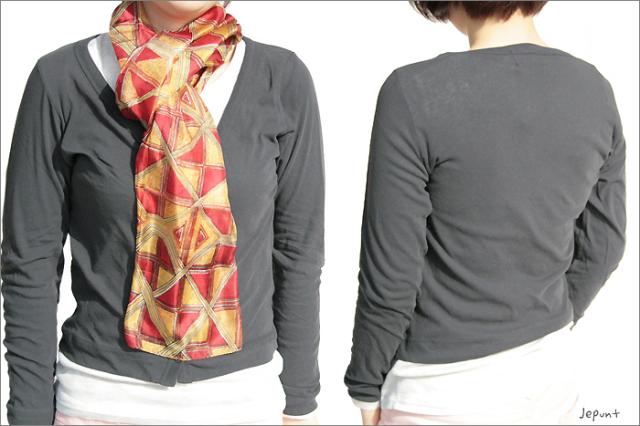 羽織物■カーディガン(グレー)